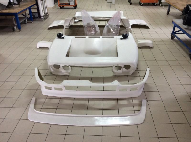Kit in Resina Lancia 037 e Accessori
